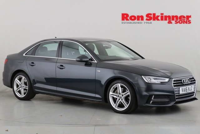 View our 2016 16 AUDI A4 2.0 TDI S LINE 4d 188 BHP