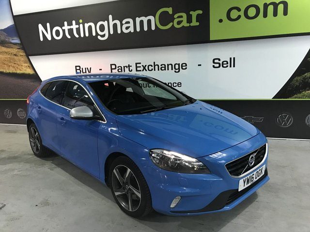 USED 2016 16 VOLVO V40 2.0 D2 R-DESIGN LUX 5d 118 BHP