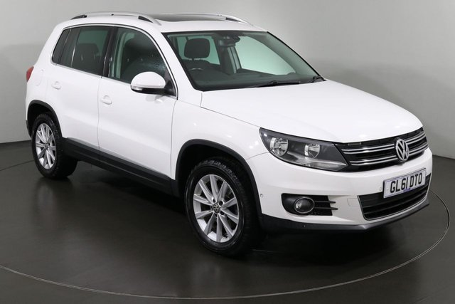 2012 61 VOLKSWAGEN TIGUAN 2.0 SE TDI BLUEMOTION TECHNOLOGY 4MOTION 5d 138 BHP ULEZ EXEMPT
