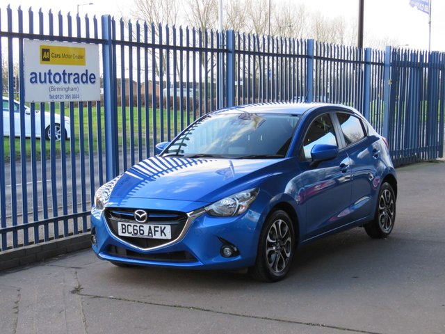 USED 2017 66 MAZDA 2 1.5 SPORT NAV 5dr Sat nav DAB Cruise Bluetooth ULEZ COMPLIANT Finance arranged, Part exchange available, Open 7 days