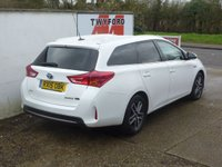 USED 2015 15 TOYOTA AURIS 1.8 VVT-I ICON PLUS 5d 98 BHP FULL TOYOTA SERVICE HISTORY,ONE OWNER