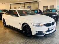 USED 2014 14 BMW 4 SERIES GRAN COUPE 2.0 420I M SPORT GRAN COUPE 4d 181 BHP BM PERFORMANCE STYLING+6.9%APR