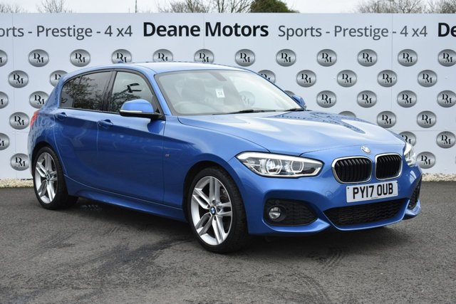 2017 17 BMW 1 SERIES 2.0 120D M SPORT 5d 188 BHP LEATHER
