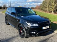 USED 2014 14 LAND ROVER RANGE ROVER SPORT 4.4 AUTOBIOGRAPHY DYNAMIC 5d 339 BHP AUTO 7 SEATER, PAN ROOF, SAT NAV