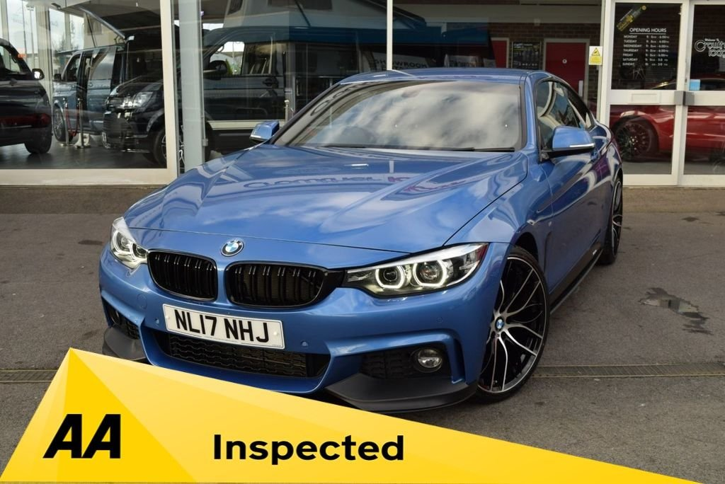 USED 2017 17 BMW 4 SERIES 2.0 420I M SPORT 2d 181 BHP FINANCE TODAY WITH NO DEPOSIT