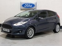 2013 FORD FIESTA 1.0 TITANIUM X 5d 99 BHP LEATHER £6977.00