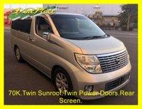 USED 2006 06 NISSAN ELGRAND X, 3.5 8 Seats, Curtains, Twin Sunroof 70k+TWIN SUNROOF+CURTAINS+