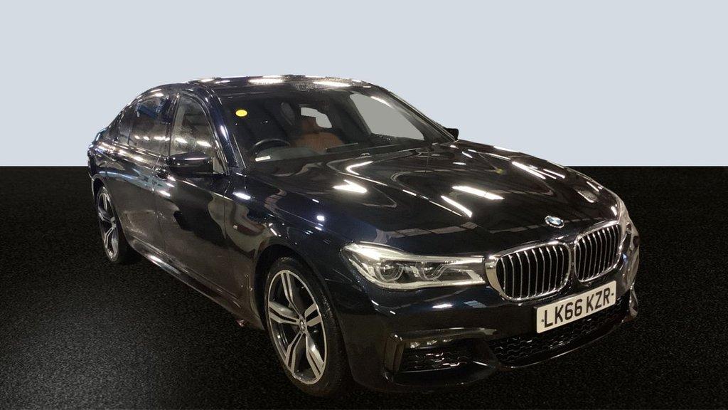 USED 2017 66 BMW 7 SERIES 3.0 730LD M SPORT 4d 261 BHP Huge Spec FBMWSH Unique Example