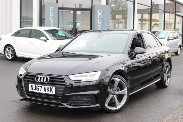 USED 2017 67 AUDI A4 1.4 TFSI Black Edition (s/s) 4dr