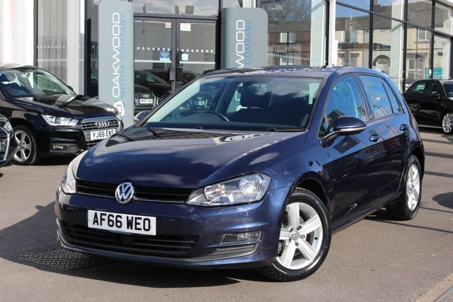 USED 2016 66 VOLKSWAGEN GOLF 1.4 TSI BlueMotion Tech Match Edition (s/s) 5dr