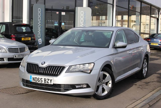 USED 2015 65 SKODA SUPERB 2.0 TDI CR DPF SE Business (s/s) 5dr