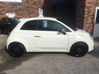 USED 2013 13 FIAT 500 1.2 STREET 3d 69 BHP Only £30 Road Tax and 28,000 Miles, Factory Bluetooth, Sports Seats, Black Alloys, 12 Mths Mot and Pre Sale Service !!!