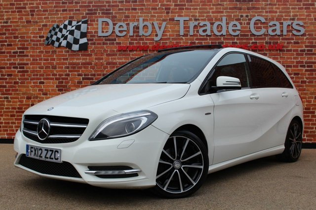 MERCEDES-BENZ B CLASS at Derby Trade Cars