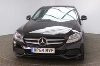 USED 2014 64 MERCEDES-BENZ C CLASS 2.1 C220 BLUETEC SE EXECUTIVE 4DR 1 OWNER 170 BHP FULL MERCEDES SERVICE HISTORY + £20 12 MONTHS ROAD TAX + HEATED LEATHER SEATS + SATELLITE NAVIGATION + REVERSE CAMERA + BLUETOOTH + CRUISE CONTROL + CLIMATE CONTROL + MULTI FUNCTION WHEEL + ELECTRIC SEATS + DAB RADIO + ELECTRIC WINDOWS + ELECTRIC/HEATED DOOR MIRRORS + 16 INCH ALLOY WHEELS