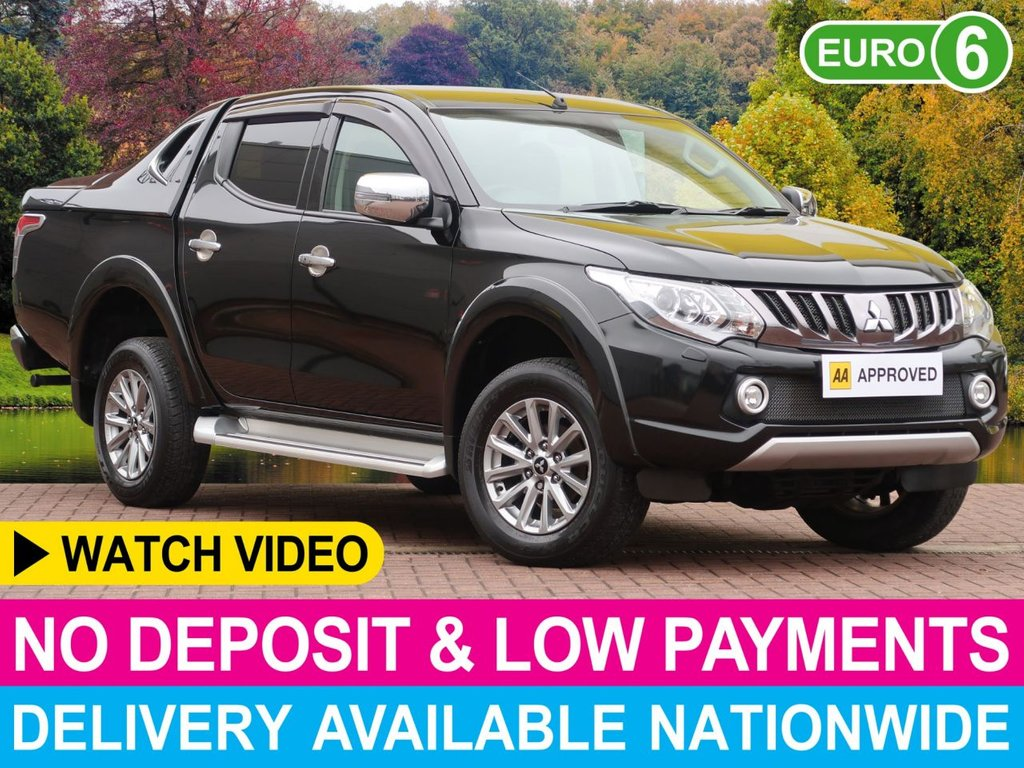 USED 2018 67 MITSUBISHI L200 2.4 DI-D BARBARIAN DOUBLE CAB SPORTOP CANOPY HARDTOP CANOPY SAT NAV LEATHER