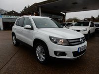USED 2016 16 VOLKSWAGEN TIGUAN 2.0 MATCH EDITION TDI BMT 4MOTION DSG 5d 148 BHP SAT NAV,REAR CAMERA,CRUISE,PARKING SENSORS,USB AND AUX PORT
