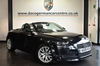 """USED 2009 09 AUDI TT 1.8 TFSI 2DR 160 BHP Finished in a stunning  styled with 17"""" alloys. Upon opening the drivers door you are presented with cloth upholstery, full service history, wonderfully maintained, sport seats, heated mirrors, air conditioning, electric roof, ULEZ EXEMPT"""