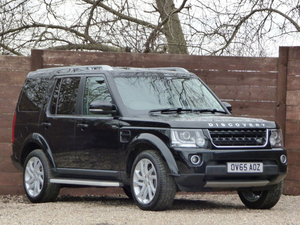 USED 2015 65 LAND ROVER DISCOVERY 3.0 SDV6 HSE 5d 255 BHP