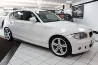 USED 2011 11 BMW 1 SERIES 2.0 118D M SPORT 141 BHP FSH HEATED LEATHER CRUISE