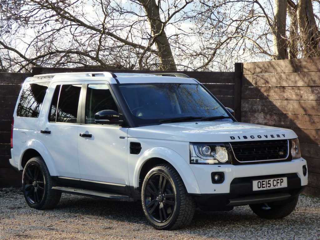 USED 2015 15 LAND ROVER DISCOVERY 3.0 SDV6 HSE LUXURY 5d 255 BHP