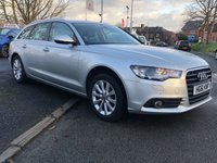 USED 2012 61 AUDI A6 AVANT 3.0 TDI SE 5d 204BHP AUTOMATIC 2KEYS+NAV+LEATHER+17ALLOYS+CLIMATE+PARKING+INFOSYS+NAVPLUS+