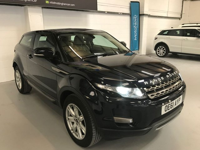 USED 2012 61 LAND ROVER RANGE ROVER EVOQUE 2.2 SD4 PURE TECH 3d 190 BHP