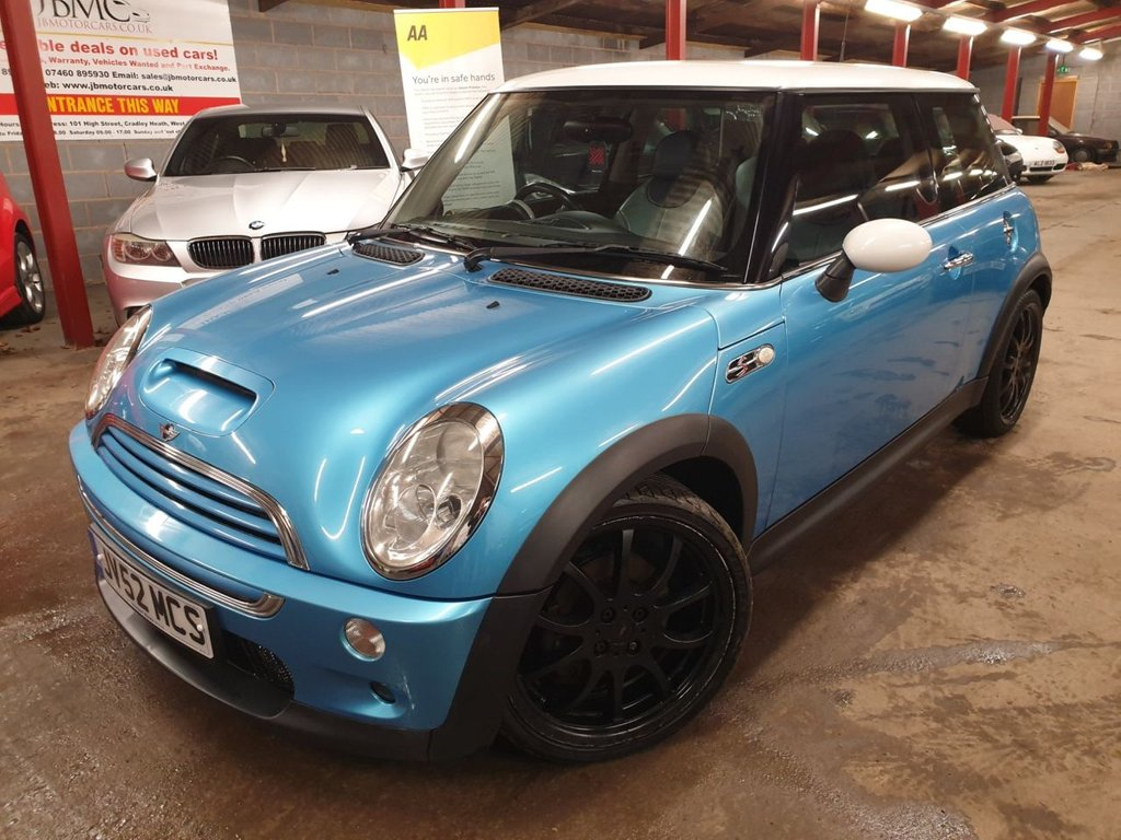 USED 2002 52 MINI HATCH COOPER 1.6 COOPER S 3d 161 BHP +++STUNNING CAR+++