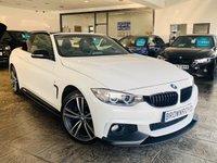 USED 2015 65 BMW 4 SERIES 3.0 435D XDRIVE M SPORT 2d 309 BHP BM PERFORMANCE STYLING+6.9%APR