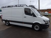 USED 2014 14 MERCEDES-BENZ SPRINTER 2.1 313 CDI MWB LOW ROOF, 129 BHP [EURO 5]