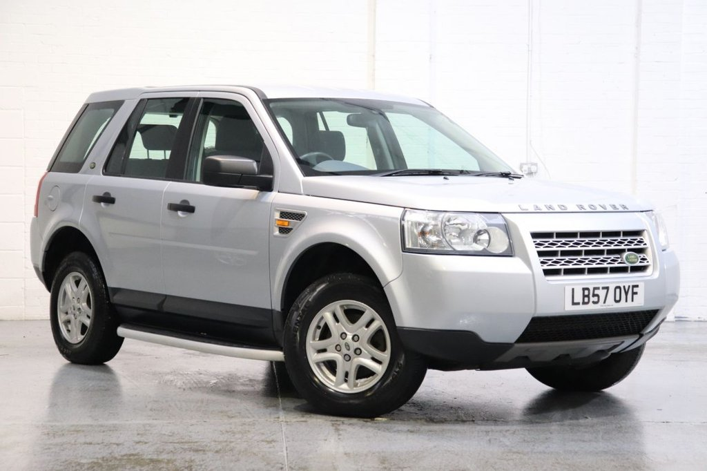 USED 2007 57 LAND ROVER FREELANDER 2.2 TD4 S 5d 159 BHP Recently Service + Long Mot