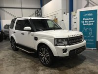 """USED 2016 16 LAND ROVER DISCOVERY 3.0 SDV6 COMMERCIAL SE 255 BHP Full Land Rover Service History, Heated Leather Seats, Satellite Navigation, Bluetooth Phone and Media Streaming, DAB Radio,  Front and Rear Parking Sensors, Rear Parking Camera, Rear Seat Conversion, Heated Front Windscreen, Auto Lights and Wipers, Cruise Control, Dual Zone Climate Control, 20"""" Alloys"""