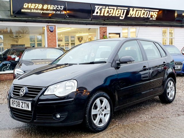 2008 08 VOLKSWAGEN POLO 1.4 MATCH 80bhp 5 Door