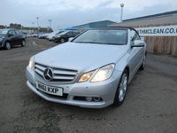 USED 2011 61 MERCEDES-BENZ E CLASS 2.1 E220 CDI BLUEEFFICIENCY SE EDITION 125 2d 170 BHP