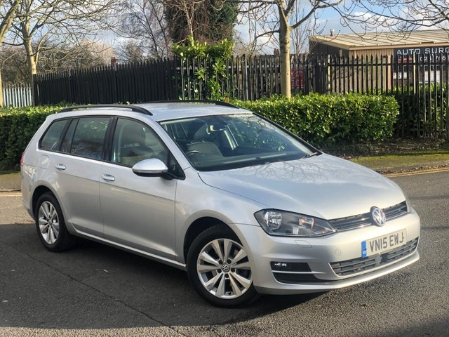 2015 15 VOLKSWAGEN GOLF 1.6 SE TDI BLUEMOTION TECHNOLOGY 5d 103 BHP