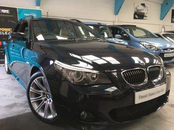 2008 BMW 5 SERIES 3.0 525D M SPORT TOURING 5d 195 BHP £7990.00