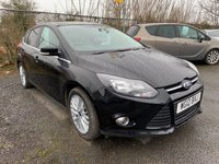 USED 2012 12 FORD FOCUS 1.6 ZETEC 5d 124 BHP SERVICE HISTORY