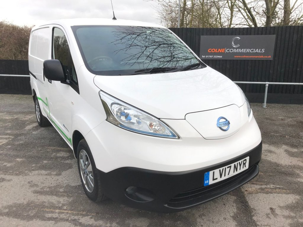 USED 2017 17 NISSAN e-NV200 TEKNA RAPID PLUS (110 PS)