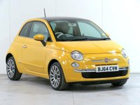 2014 FIAT 500 1.2 Lounge (s/s) 3dr £5431.00