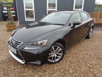 USED 2017 67 LEXUS IS 2.5 Executive Edition E-CVT (s/s) 4dr Nav, Rev Cam, Heated Seats