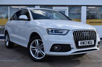USED 2013 13 AUDI Q3 2.0 TDI S LINE 5d 138 BHP CAR FINANCE APPROVAL IN UNDER A MINUTE