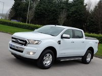 2016 FORD RANGER 3.2 LIMITED 4X4 DCB TDCI 4d 197 BHP SOLD
