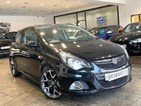 USED 2012 12 VAUXHALL CORSA 1.6 VXR 3d 189 BHP +6.9% APR AVAILABLE+LOW MILES+