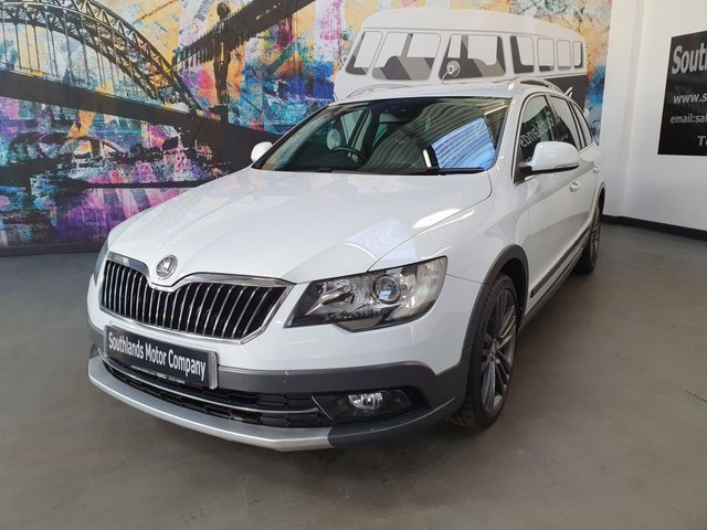 USED 2014 14 SKODA SUPERB LE-T DE FRNCE TDI