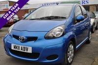 2011 TOYOTA AYGO 1.0 VVT-I BLUE 5d 67 BHP £3795.00