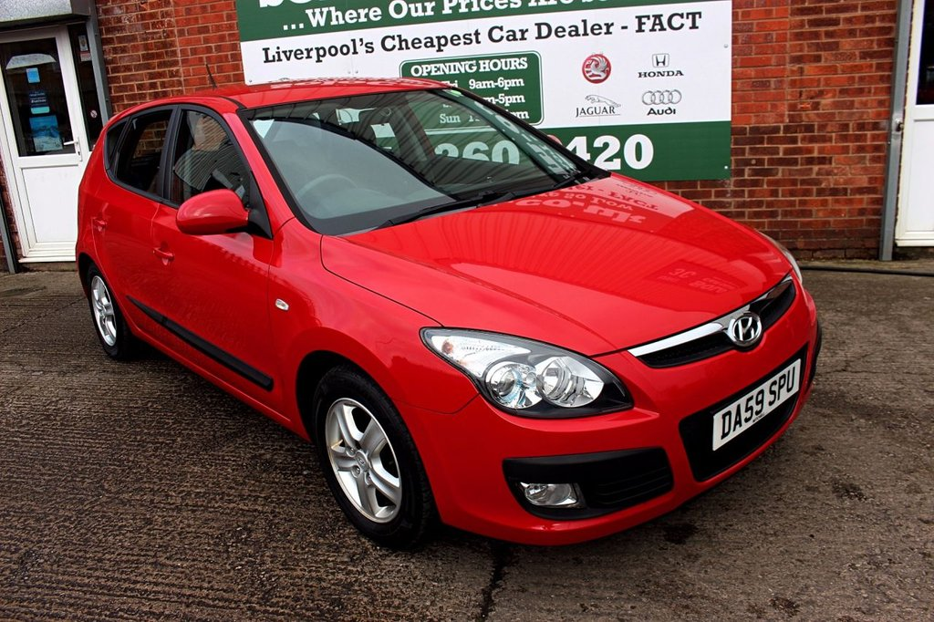 USED 2009 59 HYUNDAI I30 1.4 COMFORT 5d 108 BHP +ONE PREVIOUS OWNER +SERVICED.