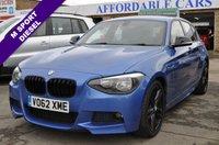 2012 BMW 1 SERIES 2.0 116D M SPORT 5d 114 BHP £7995.00