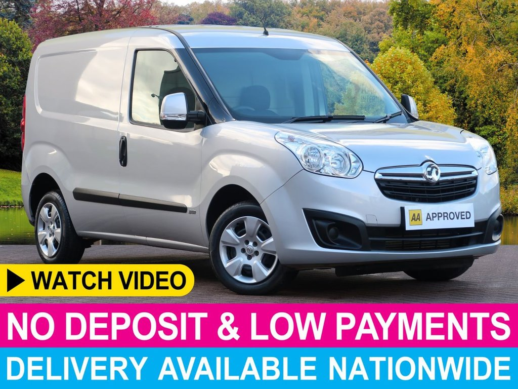 USED 2016 65 VAUXHALL COMBO 1.3 CDTI SPORTIVE L1H1 PANEL VAN BEST MODEL SIDE DOOR BULKHEAD