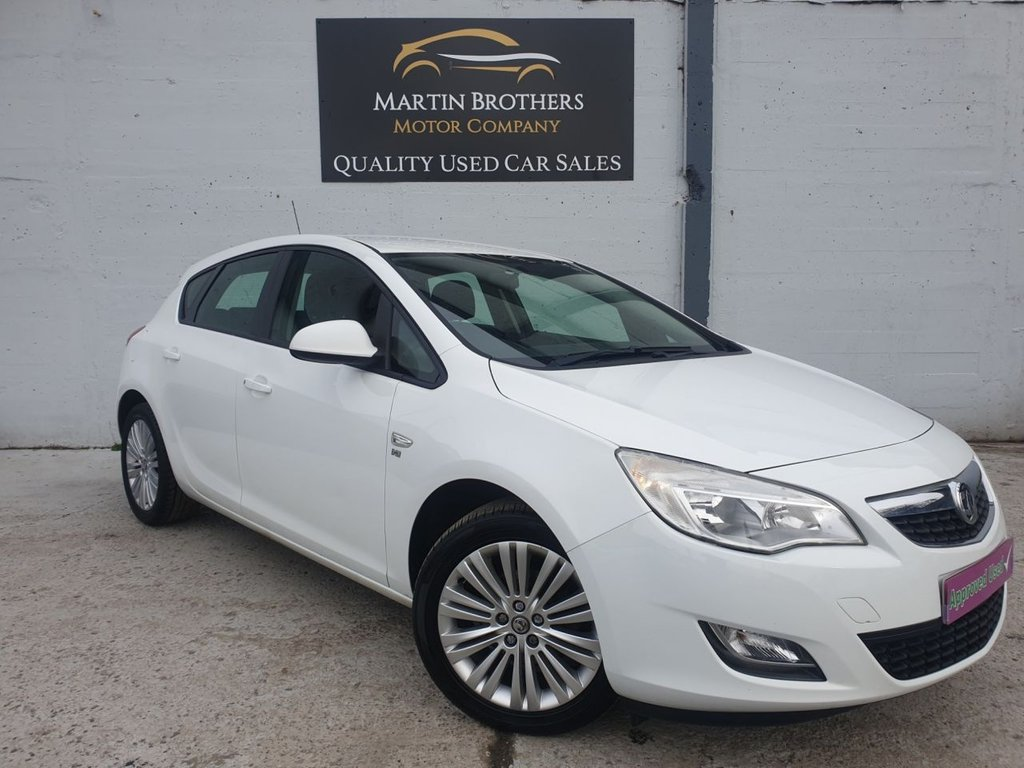 USED 2011 61 VAUXHALL ASTRA 1.6 EXCITE 5d 113 BHP