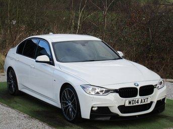 2014 BMW 3 SERIES 2.0 320D M SPORT 4d 181 BHP £11490.00