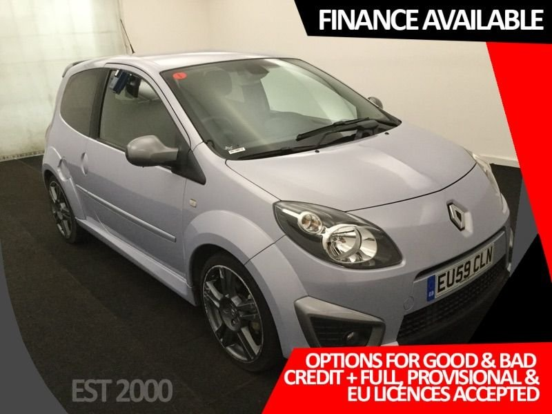 USED 2009 59 RENAULT TWINGO 1.6 RENAULTSPORT  3d 131 BHP * PRIVACY GLASS * AIR CON * 17 INCH ALLOY WHEELS *